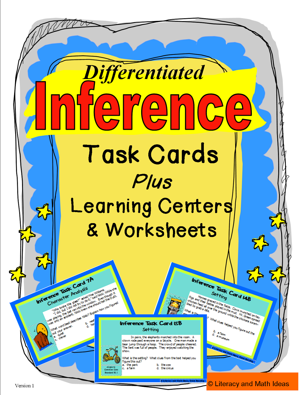 Literacy Amp Math Ideas Inference Games How To Make An