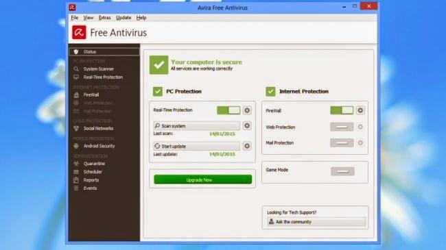 mejores antivirus 2015 para windows 8