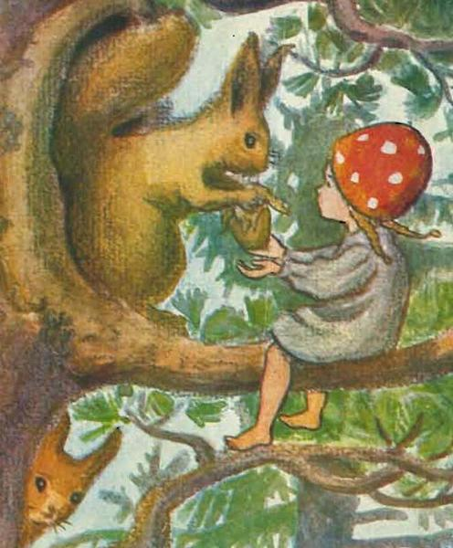 Elsa Beskow Children of the Forest