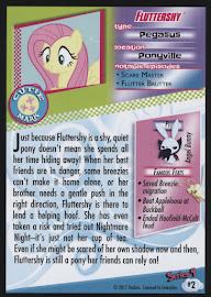 MLP Fluttershy Series 4 Trading Card