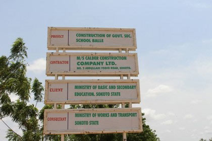 LGA without secondary school receives N1.2bn school from Sokoto govt