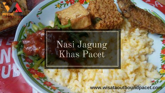 nasi jagung wisata outbound pacet improve vision