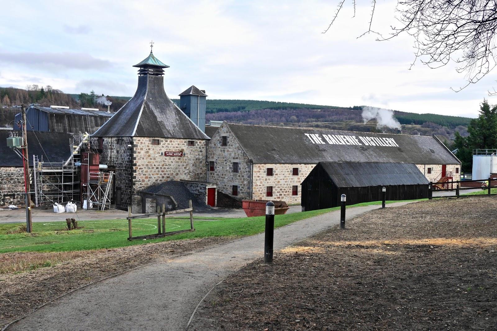 Balvenie Distillery Tour