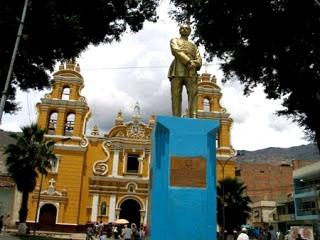 Imagen al Leoncio Prado en Huanuco