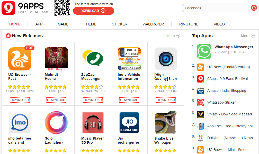 9APPS Android APP Free Download - Games Tashan-PC Games