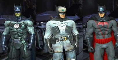 Just like Red Son to unlock this outfit you must play  Batman Arkham Origins  for iOS. You can also find it in the DLC  Infinite Earths Pack . & Batman Arkham Origins: learn how to get all Costumes and Outfits