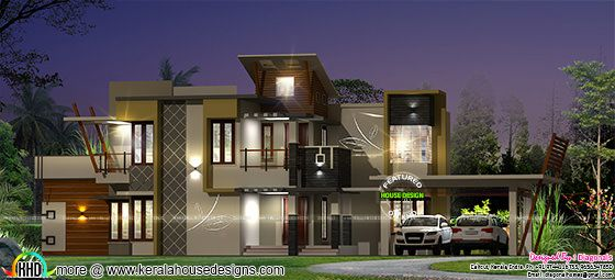 2964 square feet modern house