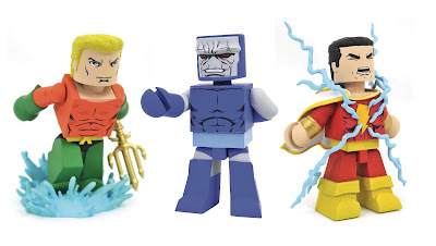DC Comics Vinimates Series 5 Vinyl Figures by Diamond Select Toys – Aquaman, Shazam & Darkseid