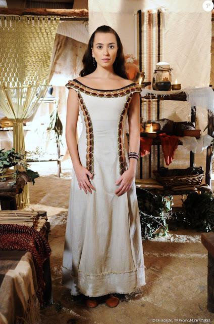 Vestido Chaia (Juliana Boller), A terra Prometida, figurino