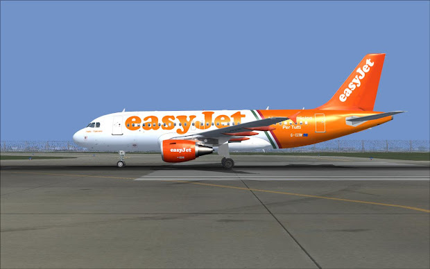 Fsrepainter Project Airbus A319 100 Easyjet Eziw Linate