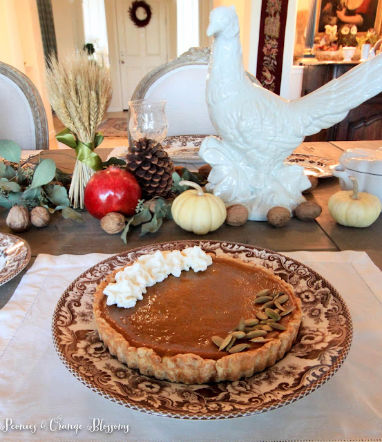 A delicious pumpkin tart recipe
