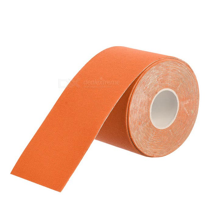 53813e1978 Oferta para Etiqueta engomada de la fisioterapia del músculo del algodón -  anaranjado (5 * 500cm) más barato