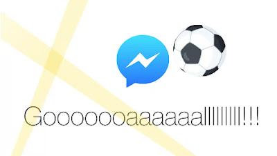 響應歐洲杯與美洲杯,Facebook 即時通 app 推出隱藏版足球小遊戲