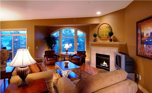 Painting Ideas for Living Room with Fireplace
