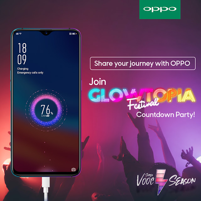 Join OPPO SuperVOOC Season game and win tickets to Glowtopia!