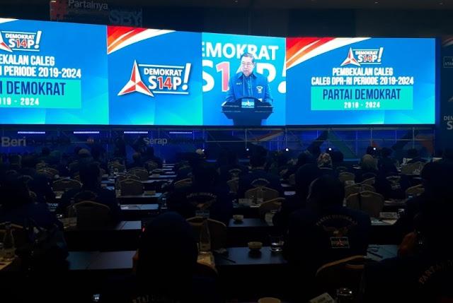 SBY Beberkan Tiga Tantangan Demokrat Di Pemilu 2019