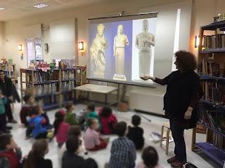 Δήμος Κατερίνης: Η Δημοτική Βιβλιοθήκη γιόρτασε την Παγκόσμια Ημέρα Παιδικού Βιβλίου