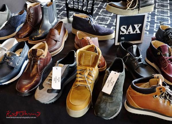 Italian leather shoes, Connect Italy 2017, Sydney, Australia. Street Fashion Sydney by Kent Johnson.