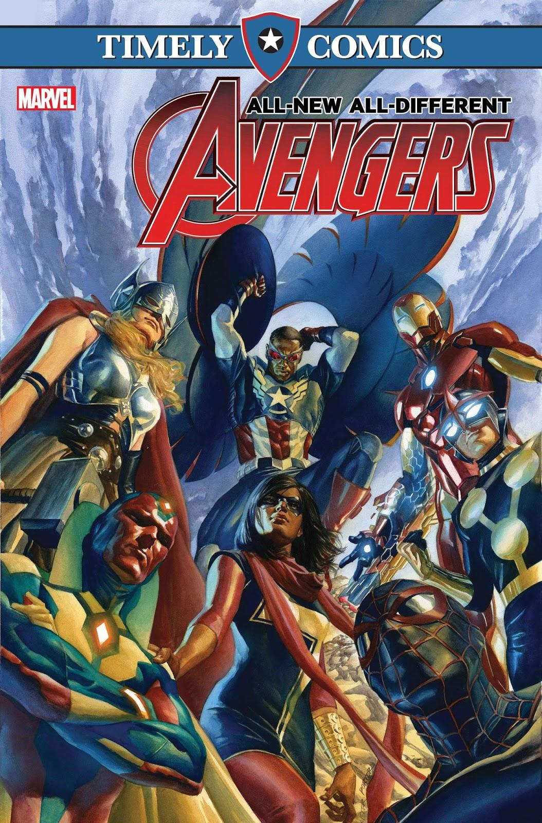 Timely Comics: Web Warriors #1
