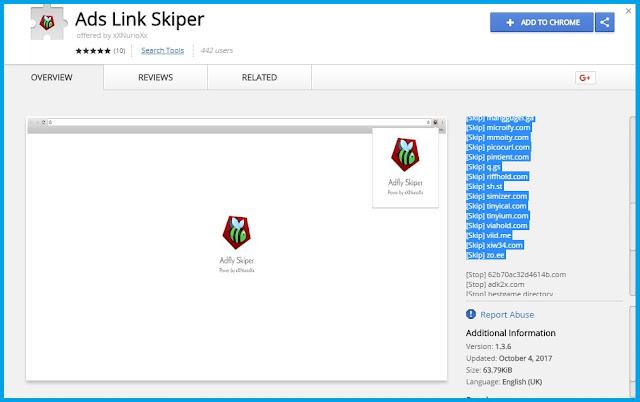 Shortlink berfungsi untuk memendekan URL Tutorial Melewati / Bypass Linkshrink Dengan Gampang