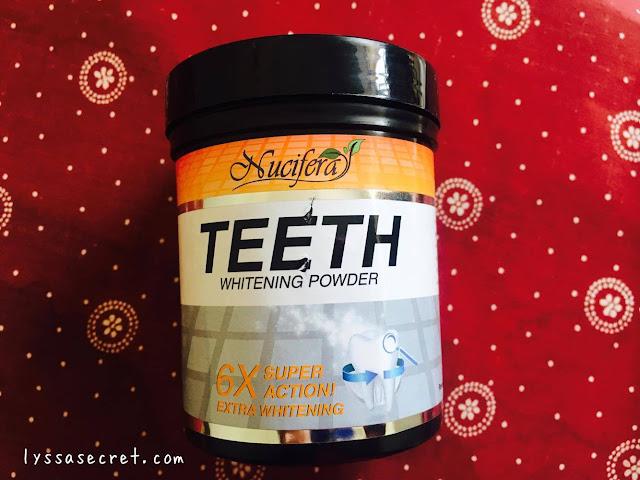 Cara Memutihkan Gigi Menggunakan Nucifera Teeth Whitening Powder