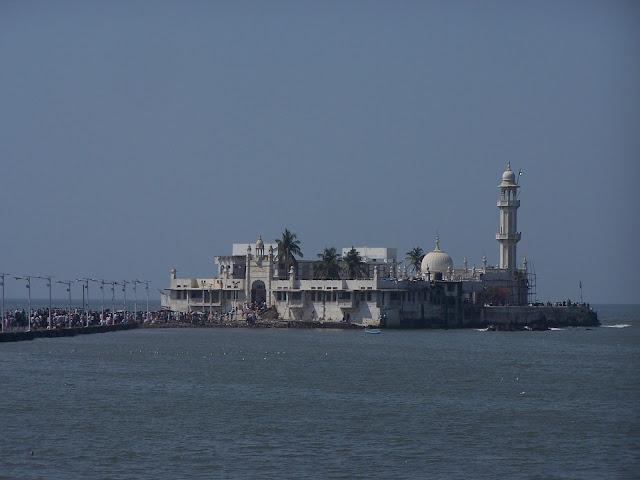Mosquée Haji Ali Dargah à Bombay