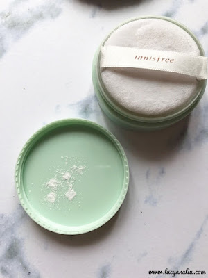 Innisfree No Sebum Mineral Powder review