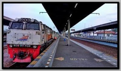 Jadwal Kereta Ekonomi, Bisnis dan Eksekutif bisa dilihat disini
