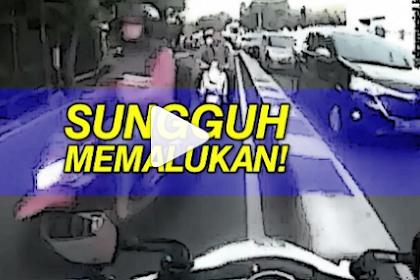 Bikin Gregetan, Puluhan Pengendara Motor Melawan Arus, Lihat Videonya! | JabarPost Media