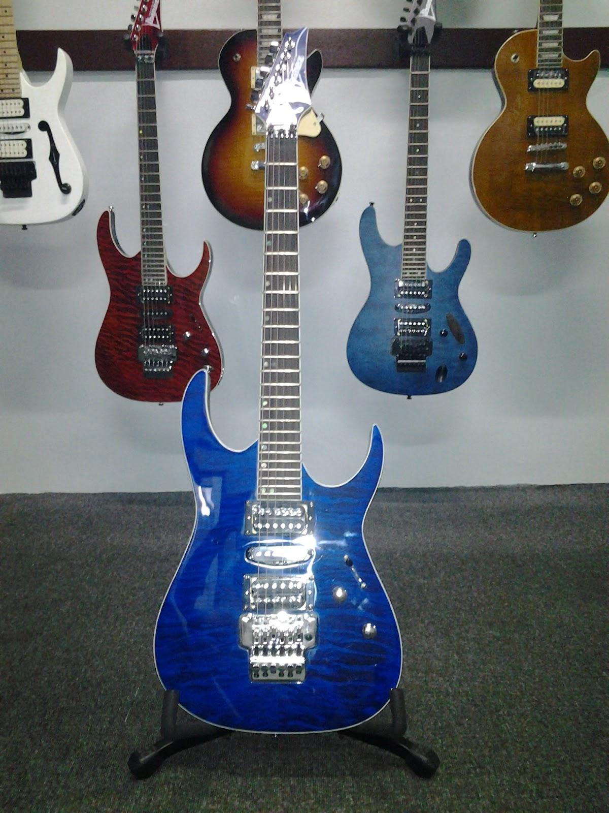 Legacy Studio Ibanez Rg Premium Electric Guitar Cobalt