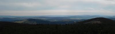 Południowo-zachodnia panorama.