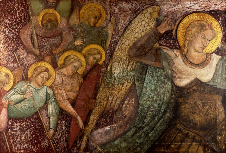 Spinello Aretino - Saint Michael and Other Angels