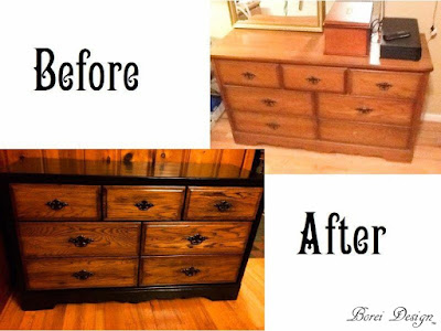 Furniture Makeover Upcycle Rescue Using Paint and Stain