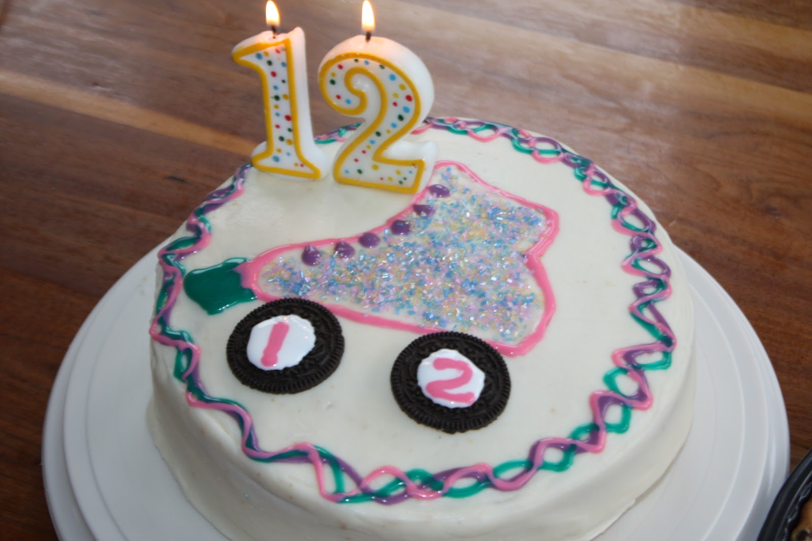 A Slice Of Smith Life 12th Birthday Cake Let The Good