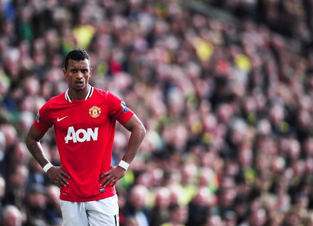 Nani khi còn khoác áo Man United.