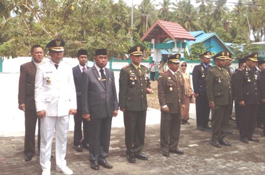 AKBP. Eddy Suryantha Tarigan S.IK, Irup Upacara Ziarah Nasional, Di ,TMP. Barugaia
