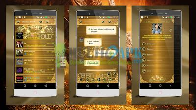 BBM Mod Luxury Gold Versi 2.13.1.14 Apk