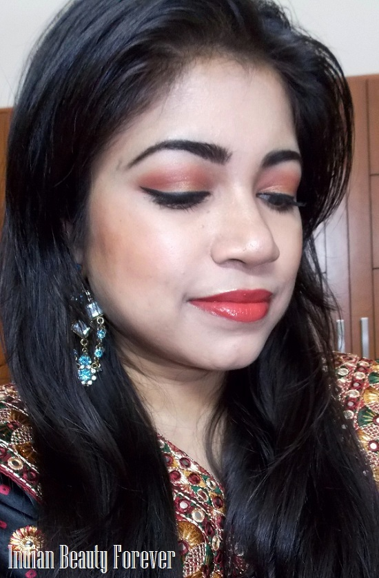 Makeup look for Indian traditional wear