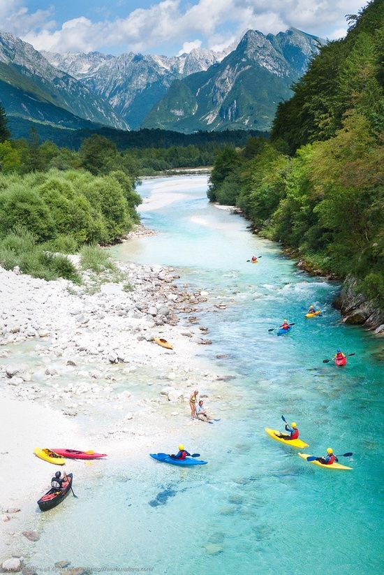 Secondary Offering - Soca River, Slovenia