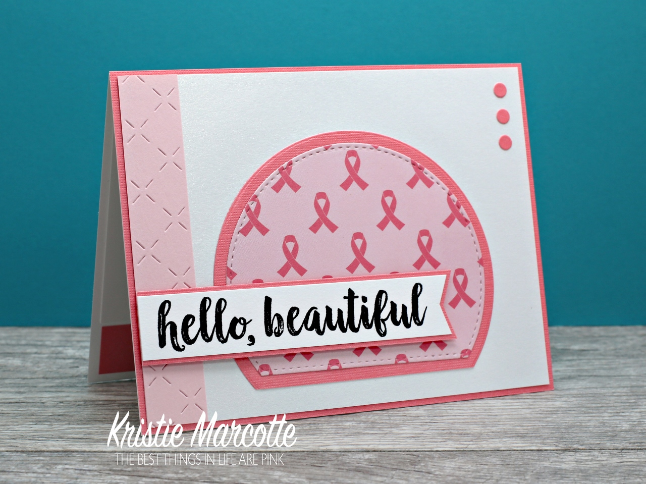 The best things in life are pink hello beautiful they are collecting items to put in care baskets along with words of encouragement cards ive already been busy making cards and filling them with kristyandbryce Image collections