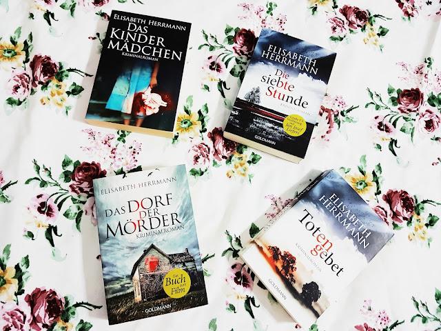 """[Buchvorstellung] Elisabeth Herrmann: """"Das Kindermädchen"""", """"Die siebte Stunde"""", """"Totengebet"""", """"Das Dorf der Mörder"""""""
