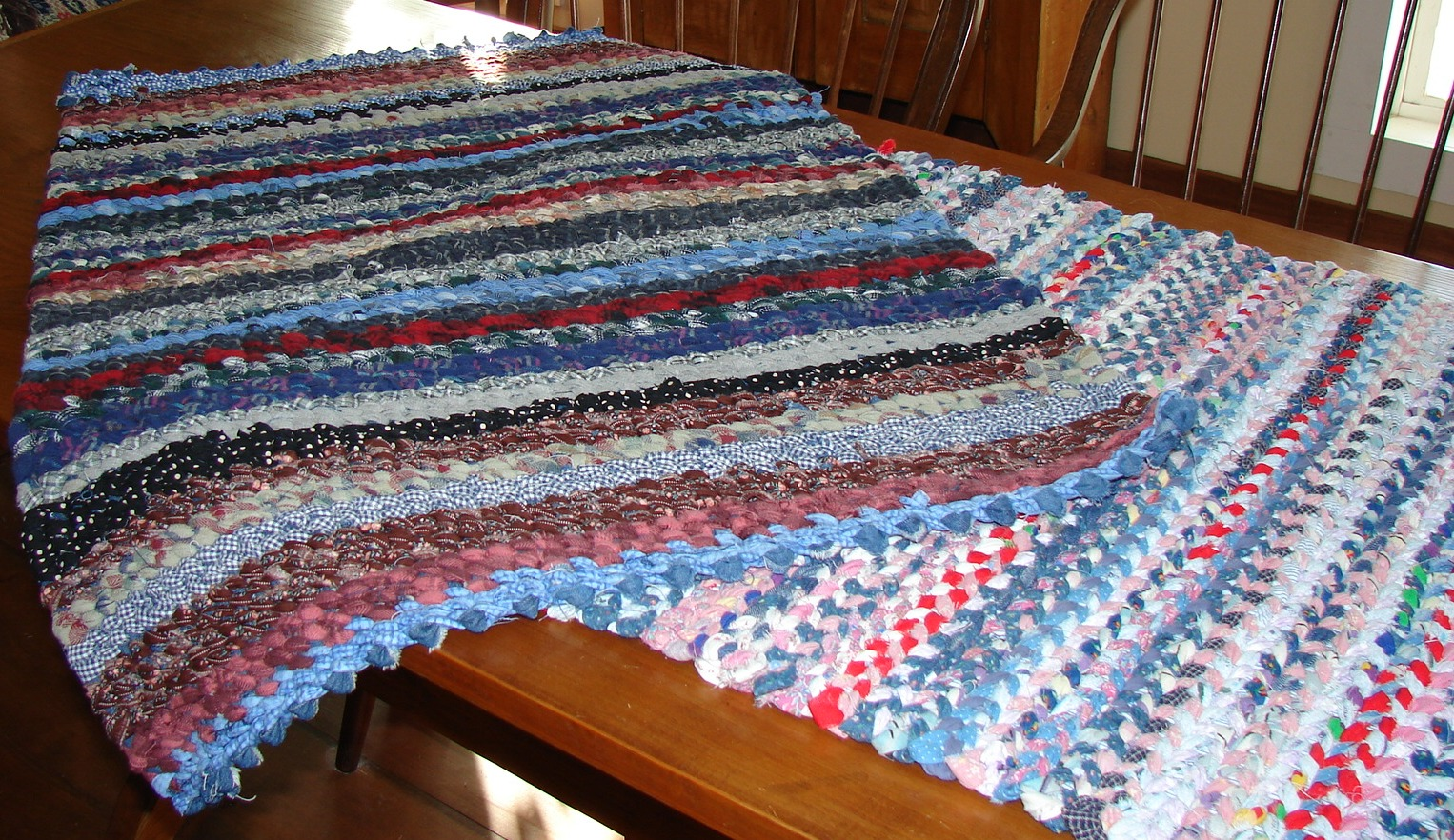 The Country Farm Home Rag Rugs A