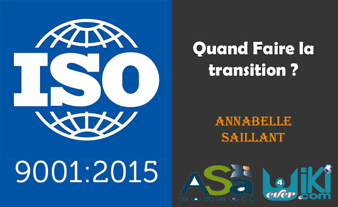 ISO 9001:2015 - Quand faire la transition ?
