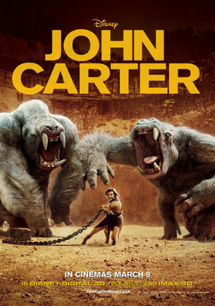 John Carter 2012 BRRip 400MB Hindi Dual Audio 480p Watch Online Full Movie Download bolly4u