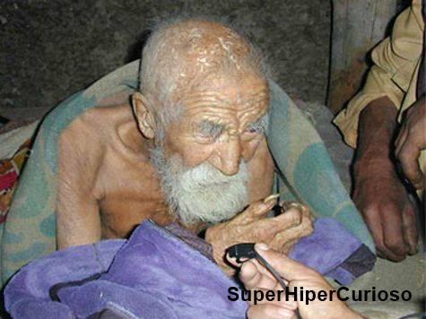 A morte esqueceu-se dele e tem apenas 179 anos de idade!