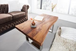 Moderní konferenční stolek z masivu Reaction.