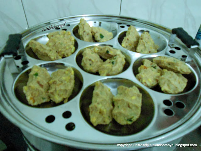 Thinai Pidi Kozhukattai [ Foxtail Millet Dumpling ]