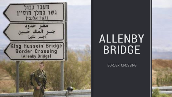 Pengalaman Melintas batas Yordania - Palestina via Allenby Bridge