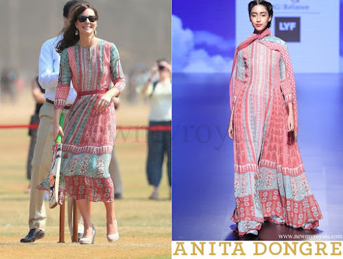 Kate Middleton wore Anita Dongre Dress