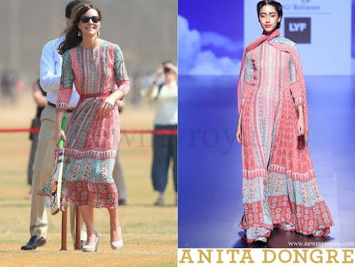 Kate Middleton wore Anita Dongre Dress